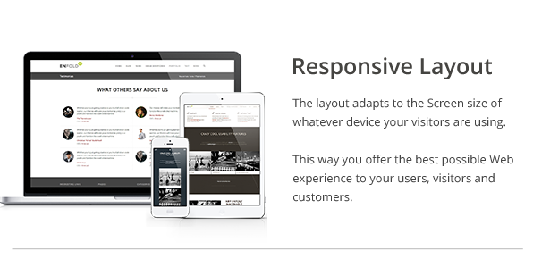 enfold responsive layout