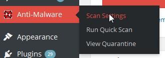 klik scan setting anti malware by eli -pusathosting