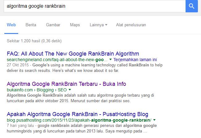 algortima google